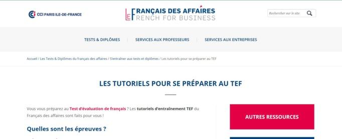 Ressources pour travailler le français